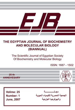 The Egyptian Journal of Biochemistry and Molecular Biology